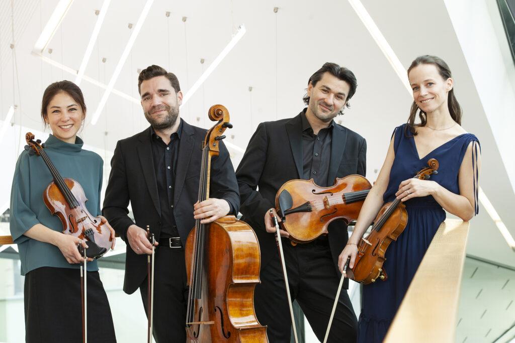 Minetti Quartett, Foto: Moritz_Schell