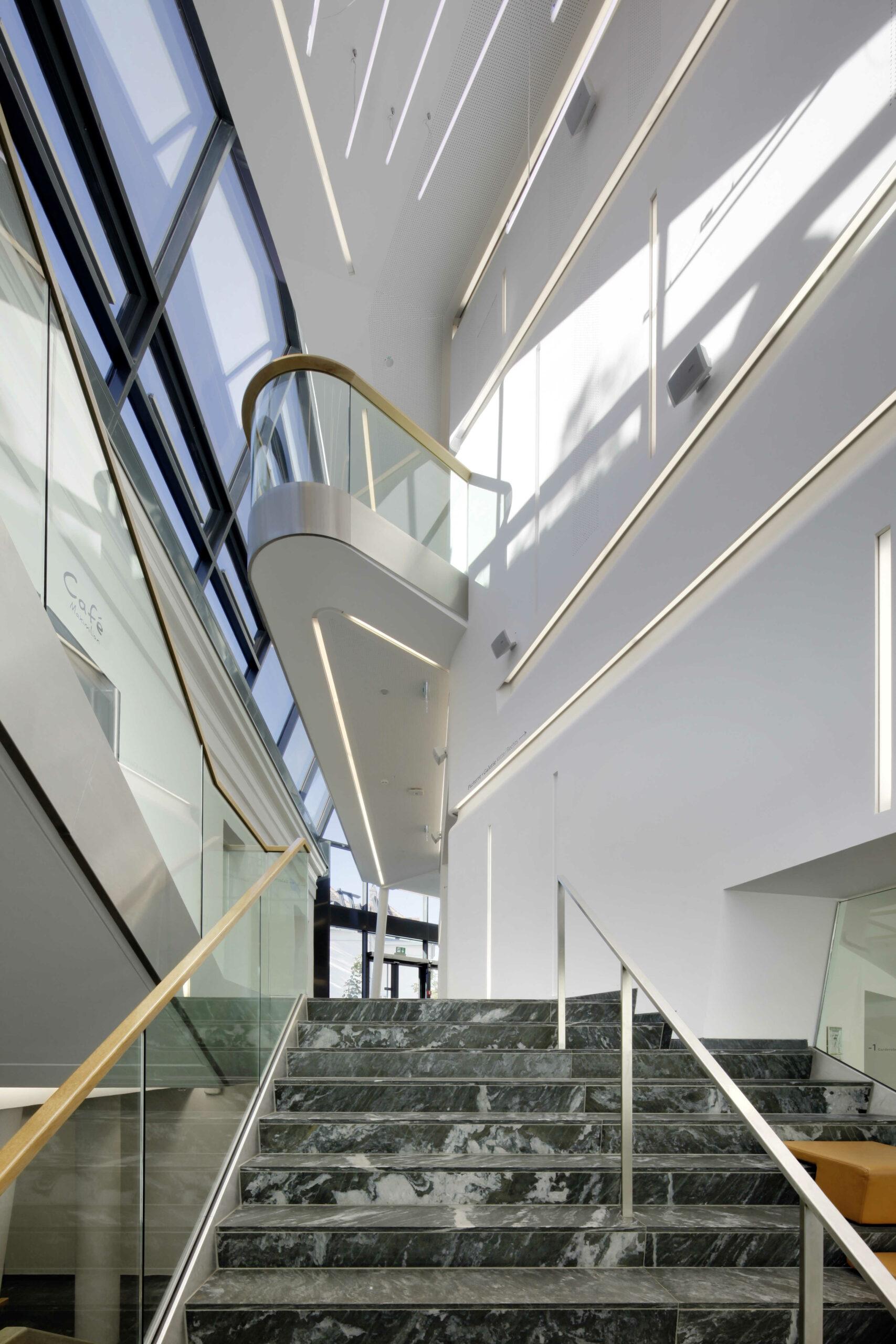 MuTh, Foyer, Foto: Helmut Karl Lackner