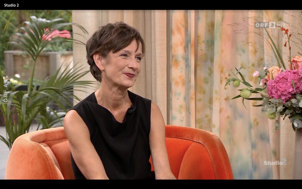 Elke Hesse in Studio 2, ORF