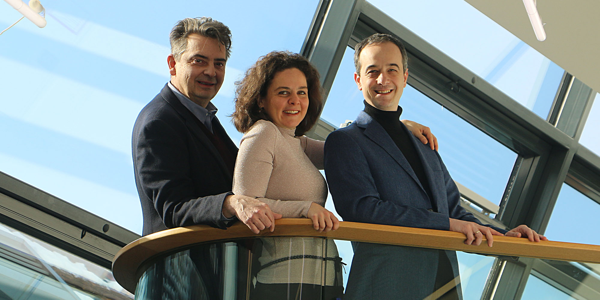 Christoph Wagner-Trenkwitz, Andrea Linsbauer, Adrian Eröd